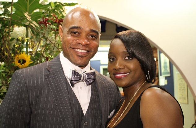 Houston, News, Marcy, Steele Red Carpet, May 2015, Shelton and Maria Jolivette