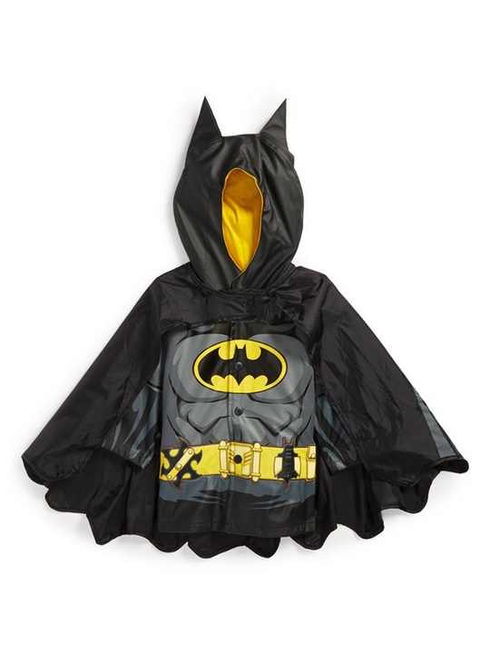 Batman hooded raincoat from Western Chief