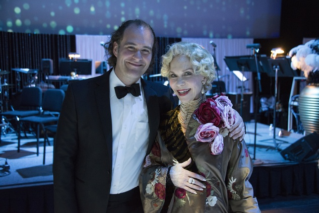 18 Antoine Plante and Lynn Wyatt at the Mercury Gala 2015 March 2015