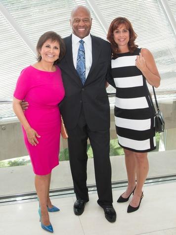 Gloria Campos, Timmy Newsome, Taila Newsome, FWC Luncheon
