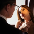 Zane Holtz and Eiza Gonzalez as Santanico Pandemonium in the new From Dusk Till Dawn the Series on El Rey
