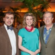 23 Ed Thayer, from left, Claudia Krisele and John Ambler at Trees of Houston Root Ball March 2015