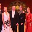 News, Shelby, Symphony underwriter dinner, April 2015, runas Bizokas and Katusha Demidova; Lester & Sue Smith; Yulia Zagoruychenko and Riccardo Cocchi;