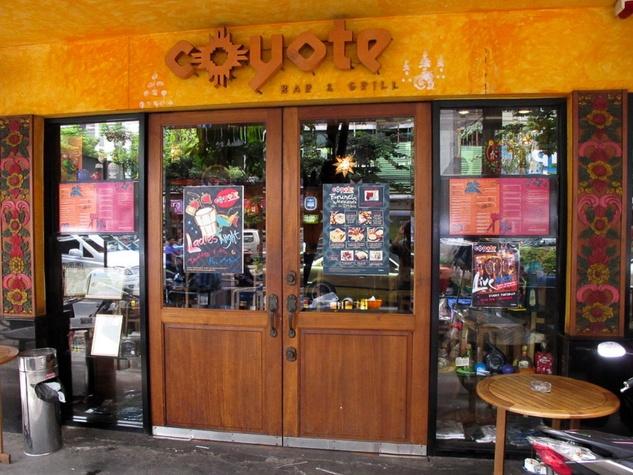 Marene, Thai Tex-Mex, Coyote, Bangkok, Mexican restaurant