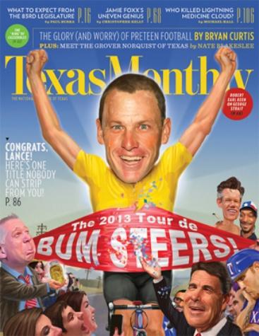 Austin Photo Set: News_caitlin_lance armstrong bum steer_dec 2012_cover
