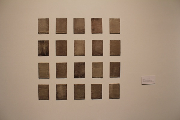 Lawndale, Anne J. Regan, Wall of Sound (Silent Painting Series), June 2012