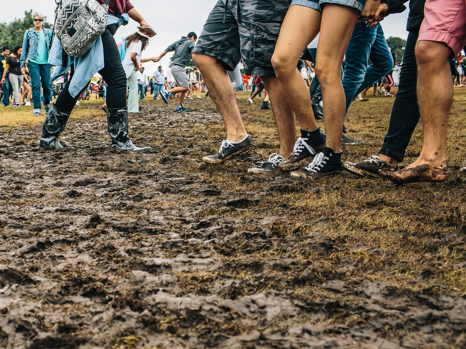 Austin City Limits Festival ACL Fest 2014 Weekend Two Mud