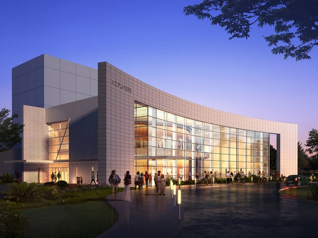 A.D. Players new theater near Galleria rendering May 2014