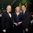 8 Charles and Anne Duncan, from left, with Barry Mandel at Gala on the Green February 2014