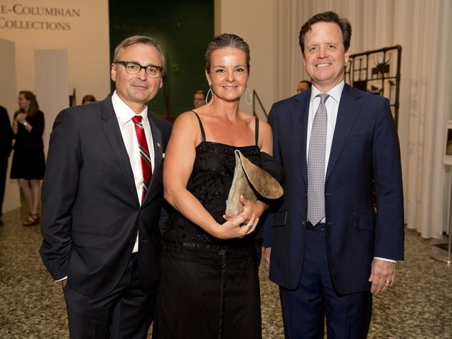 MFAH Habsburg Splendor dinner Alfred Glassell, III and Marli AndradeMichael Gigl; Sigrid Pichler; Christopher Gardner
