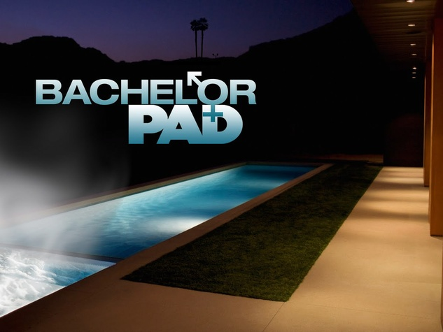 The Bachelor Pad, logo, hot tub