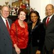 John Dryden, Judy Dryden, Cindy Prentice, Gary Prentice, DA Holiday Party