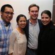 Justin Yu, from left, Karen Man and Bob and Paige Martin at the Alley Young Professionals holiday party December 2013