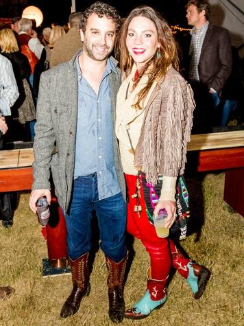 Blake Eltis, Alayna Hensley at Cattle Baron's Ball
