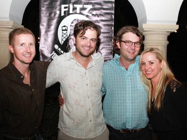 Heroes Rise Fundraiser 2014 in Austin Kris Steinke, Ryan Seiders, Luke & Elizabeth Brenner