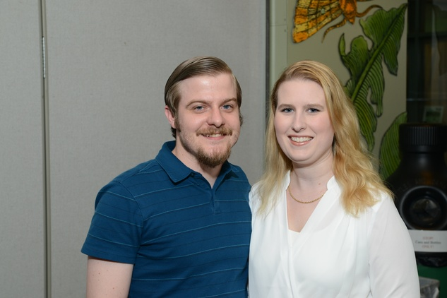 Houston Arboretum Evergreen party, May 2015, Cory Brown, Erin Mcnally