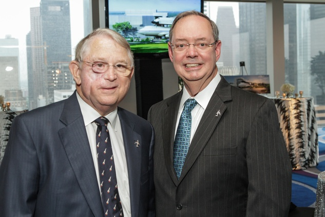 Houston, Galaxy Gala Space Center, May 2015, Fred Griffin, Richard Allen