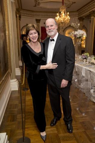 Rienzi society dinner, Feb. 2016, Stephanie Tucker, Brad Tucker