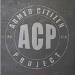 The Armed Citizen Project logo guns for neighborhood residents