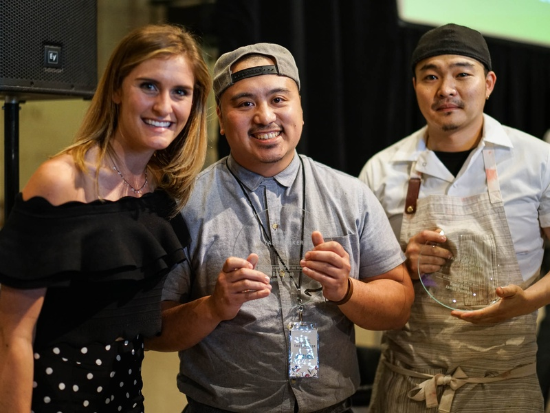 CultureMap Tastemaker Awards 2017 Rising Star Chef of the Year David Baek James Dumapit