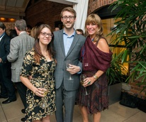 News, Shelby, Houston Cinema Arts Festival launch, Oct. 2014, Lauren Ruben, Trevor Best, Franci Neely Crane