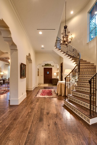 Houston, 1915 Kirby, May 2015, stairs
