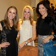 Maggie Kipp, Katy Bock, Sunie Solomon, CCB 10 Best Dressed Luncheon