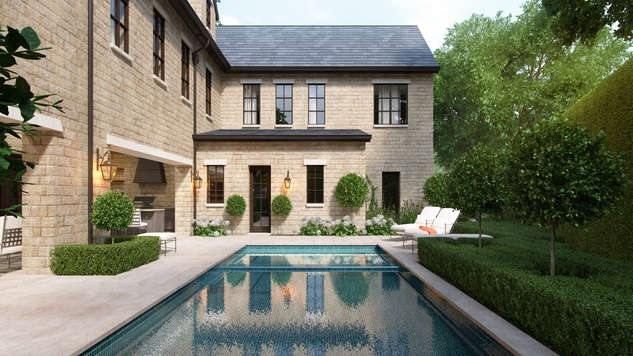 Houston, News, Shelby, Sudhoff Hampton Lane Collection, April 2015, 2203 Looscan - pool