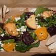 Beets & Oranges salad at Alamo Drafthouse