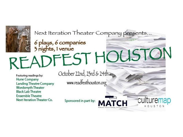 Next Iteration Theater Company ReadFest Houston
