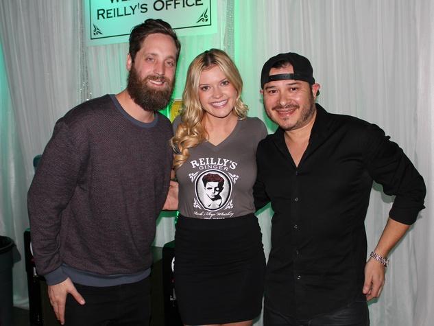 Brandon Hays, Lauren Raincsuk, DJ Joe Ramirez, Reilly's Whiskey
