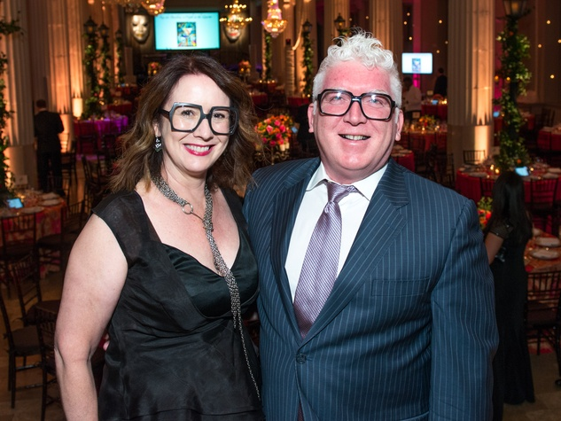 7 Rebekah Johnson and Tim Moloney at the Children's Museum Gala October 2014