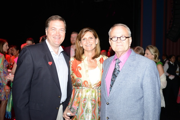 13 65-Chris and Sherri Boatwright, from left, with Bill Jones at the Casa de Esperanza benefit April 2014
