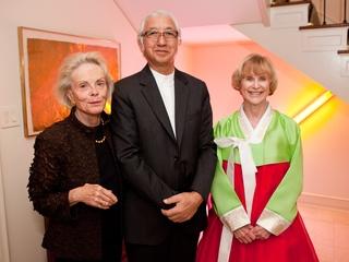 News_Louisa Sarofim_Yoshio Taniguchi_Nancy Allen