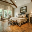 Master bedroom at 4436 Brookview in Dallas