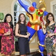 005, Houston Ballet Ball kickoff party, October 2012, Kristi Bradshaw, Lindsey Brown, Karina Barbieri
