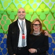 3 Max Fishko and Barbara Davis at the Texas Contemporary Art Fair VIP opening party October 2013