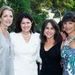 Paige Fertitta, from left, Karen Thompson, Maria Bush and Deanna Barton at the Celebration of Reading kick-off April 2014