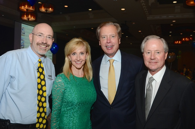News, KIPP Academy gala, April 2015, Mike Feinberg, Tricia Dewhurst, David Dewhurst, Ernie Cockrell, Sr.