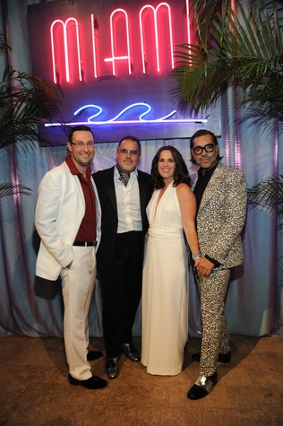 Children's Museum Gala Co-Chair Matthew LaFauci, Todd Fiscus, Gala Co-Chair Molly LaFauci and Ceron