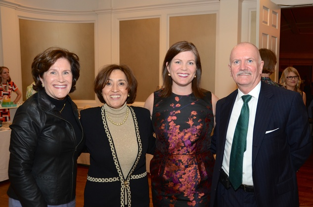 Houston, Dress for Success A Night Out Event, November 2015, Nancy Levicki, Fetneh Dicksinson, Lauren Levicki Courville, John Dickinson