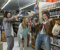 Mila Kunis, Kristen Bell, and Kathryn Hahn in Bad Moms
