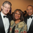 The Menil 25th anniversary gala, December 2012, David Gerger and Melanie Lawson, John Guess Jr.
