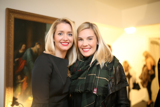 90 Joyann King, left, and Meg Pieri at the Baanou Grand Opening Party November 2014