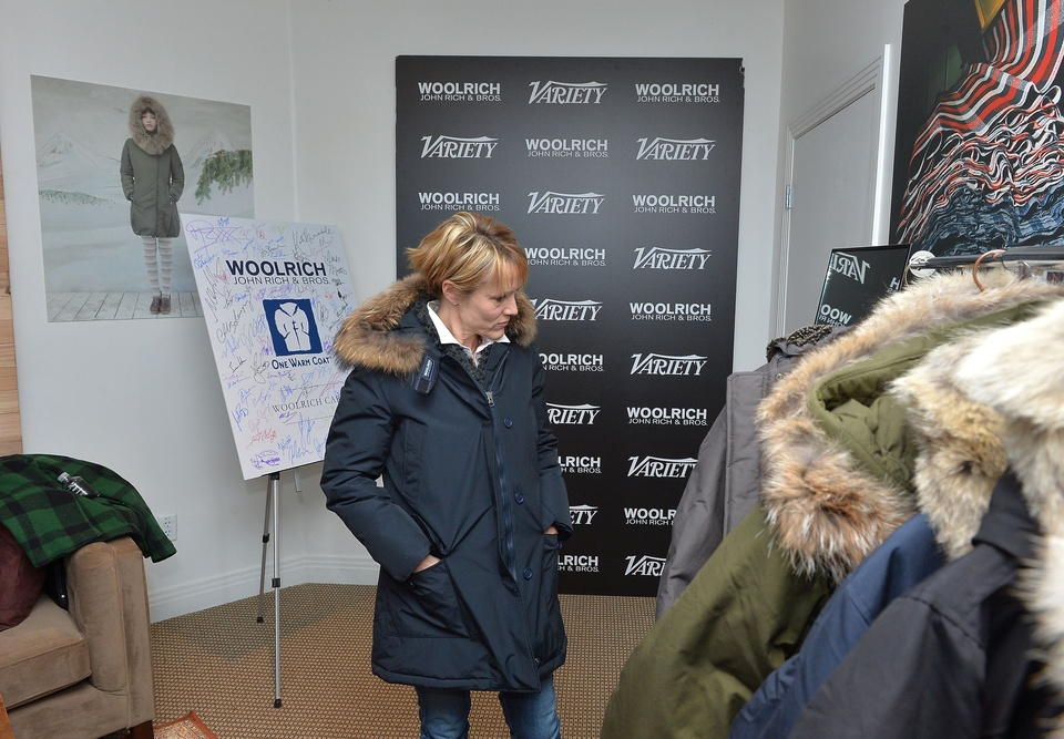 Mary Stuart Masterson gets some swag at Sundance FIlm Festival