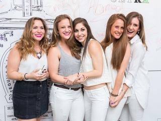 CultureMap Social, March 2016,  Lenni Naylor, Allison Lewis, Dena Kurman, Kara Hoffman, Kelli Blumrosen