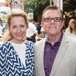 Lynn McBee, Terry Shields, taca party on the green