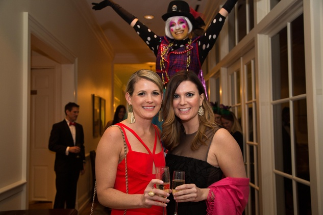 Junior League Gala, Feb. 2016, Anna Lynch, Julie Danvers