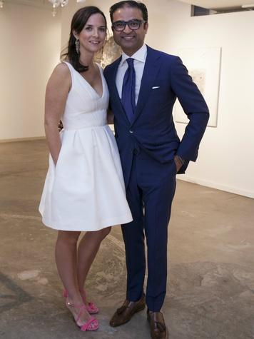 Ed Shaikh and Gable Shaikh , Dallas Art Fair Preview Gala
