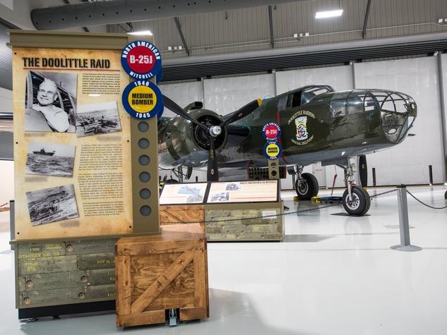 Lone Star Flight Museum Doolittle plane